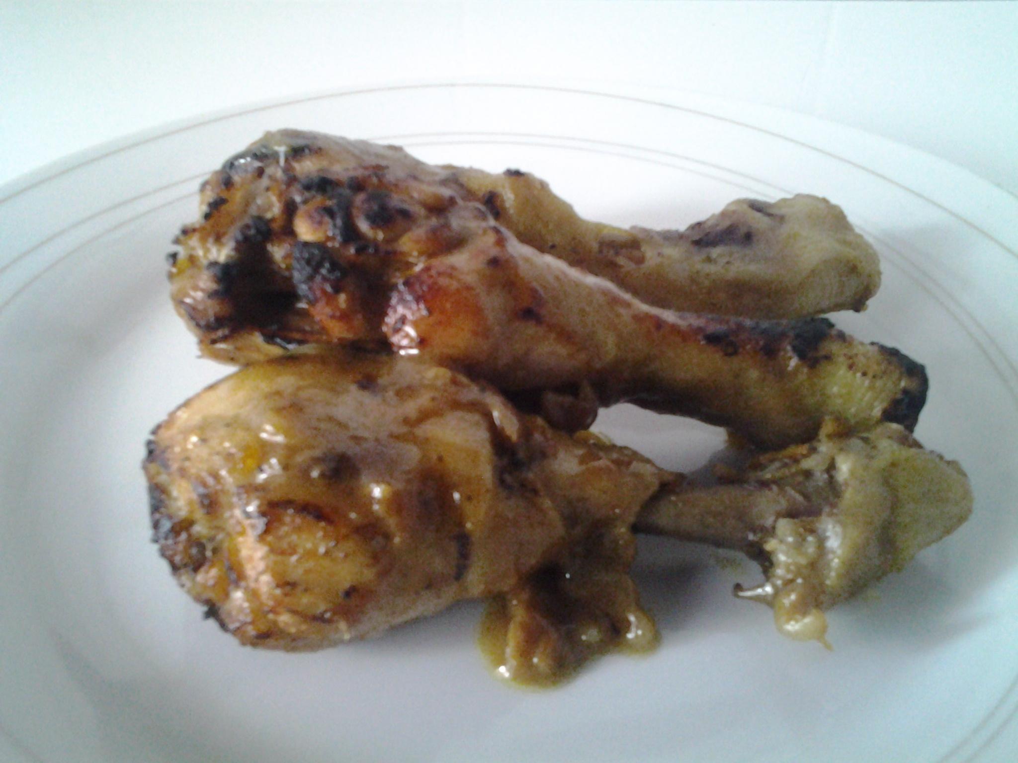 fricassées de poulets