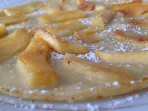 crêpe aux pommes