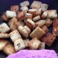 Croutons maison simple et rapide.