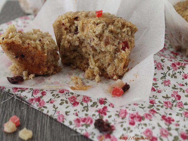 Muffin rustique vanille