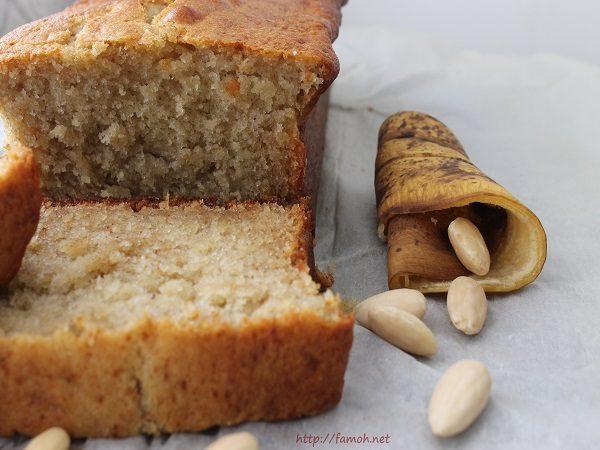 Cake banane amande