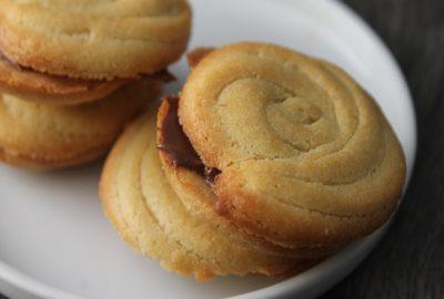 biscuit fourré chocolat