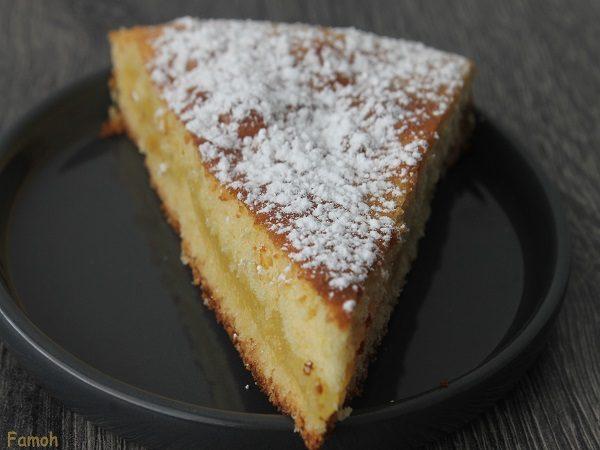 gâteau ultra moelleux fourré au citron