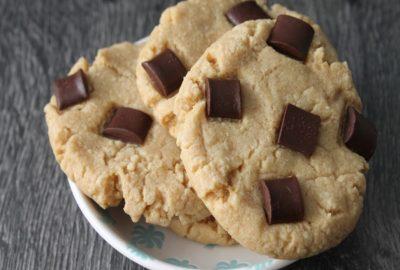 cookies chocolat beurre cacahuète
