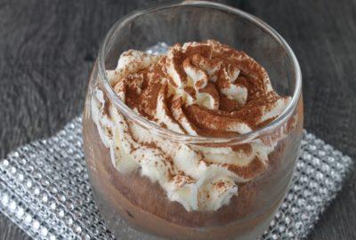 mousse au chocolat légère sans oeuf