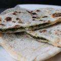pain turc épinards feta