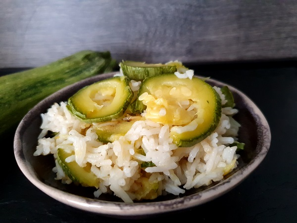 one pot riz courgettes