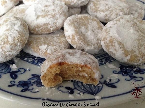 Biscuits gingerbread