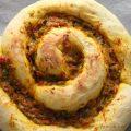 Pizza spirale aux légumes