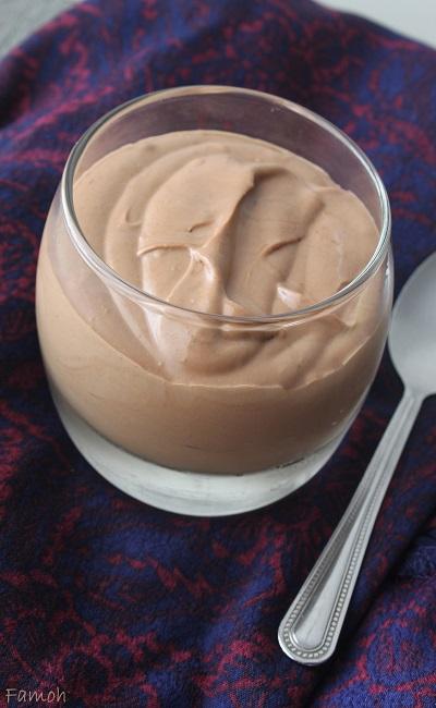 mousse chocolat chantilly sans oeuf