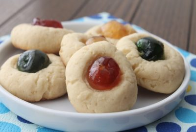 biscuits aux fruits confits