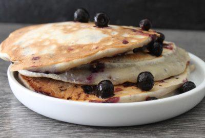 pancakes blueberry